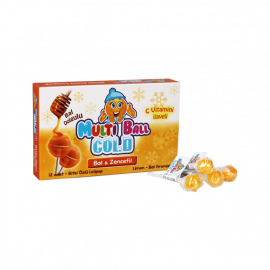 Lollipop Cough Cold Honey and Ginger Vitamin
